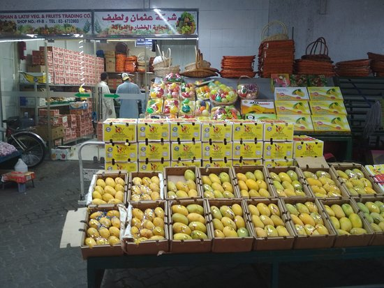Al Mina Fruit and Vegetable Souk