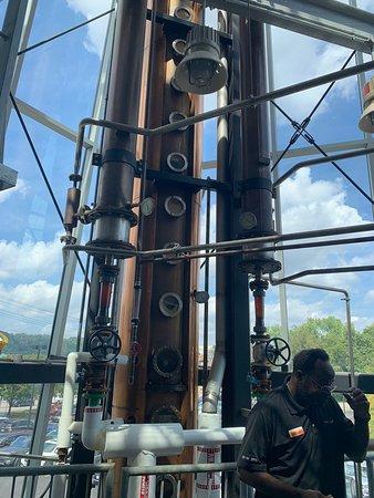 Distillery tower