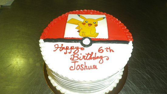 birthday cake from Irresistible Cakes