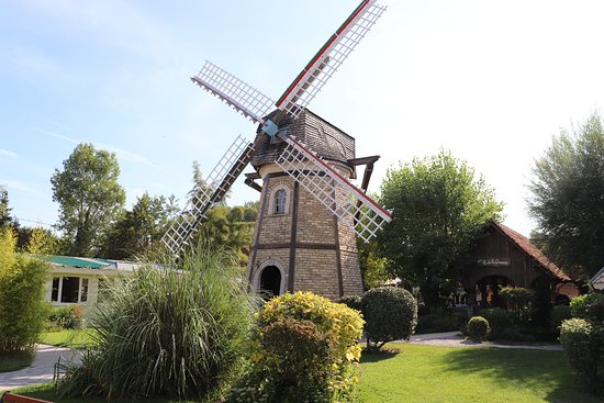 Parc Saint Joseph Village: Moulin