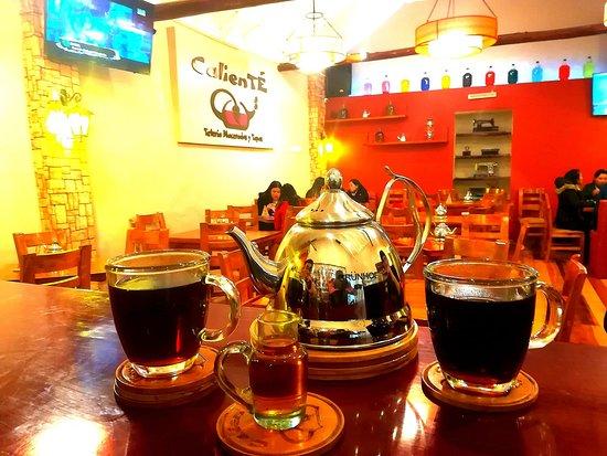 CalienTE - Teteria Macerados y Tapas: Disfruta de la variedad de nuestros tés in fusionados con frutas y hiervas locales