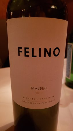Very nice wine ordered
