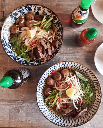 Pho Bo Noodle Soup