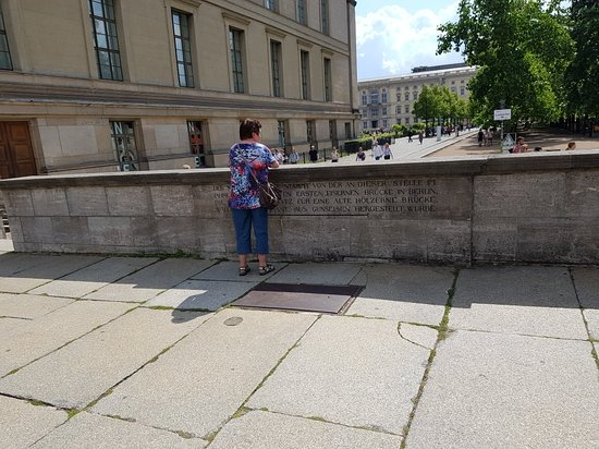 Great features on Museum Island