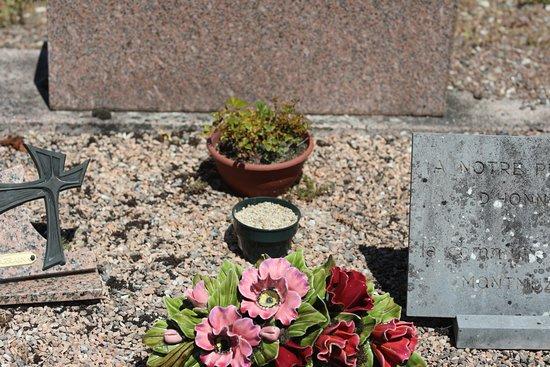 Le cimetière d'Alise Sainte Reine - C'est ici que se trouve la tombe du chamoine KIR