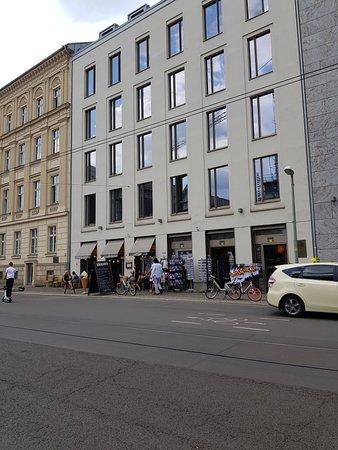 Cafe Wilhelm in Mitte district