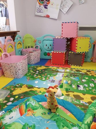 experience our free soft play area for toddlers so mum and dad can enjoy a quiet coffee