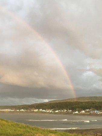 Cloridorme, Canadá: Arc en ciel en Gaspésie
