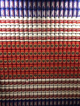 Beer wall!
