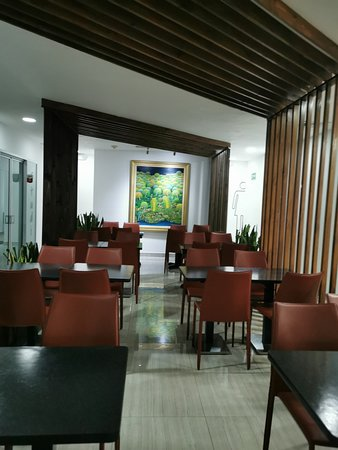 VIP lounge at the San Salvador international airport