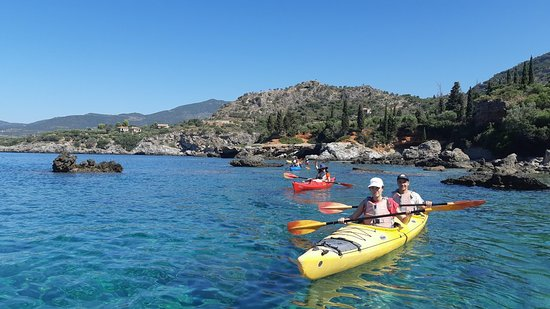 Half-Day Sea Kayaking Activity in Stoupa and Kardamili: útközben