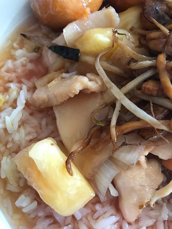 Chicken with pineapple & ginger