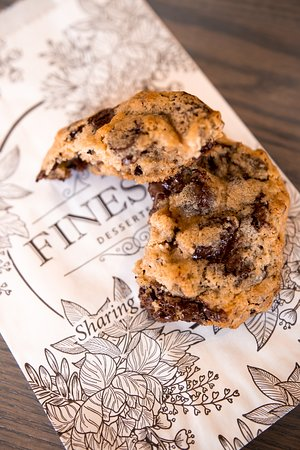 One of the best sellers - Chocolate Chip Wallnut Cookie.