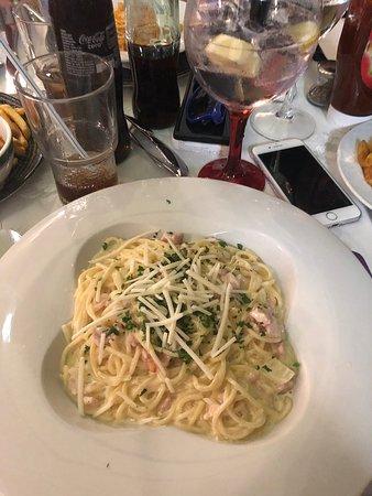 Amazing food and amazing waiters