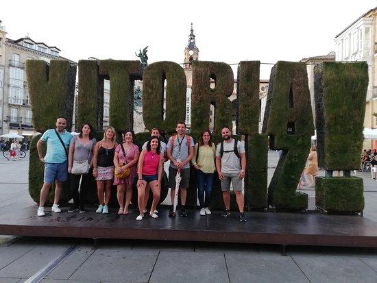 22 de agosto. Free tour en Vitoria. GUIARTU