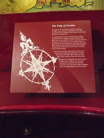PA - PHILADELPHIA – SWEDISH MUSEUM #11 - EXPLANATION OF THE GOLDEN MAP