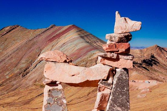 The New Rainbow Mountain, Palcoyo located in Cusco