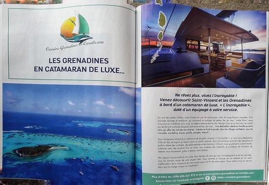 Alex Croisiere Grenadines et Caraibe