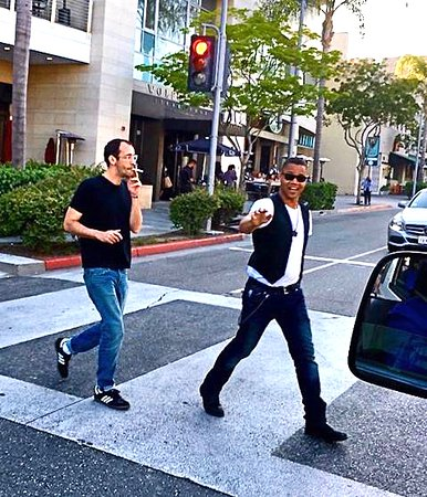 Cuba Jr. was seen on Sunset Blvd. seen by our Driver/guide on #moviestarshomes tour   www.starlinetours.com
