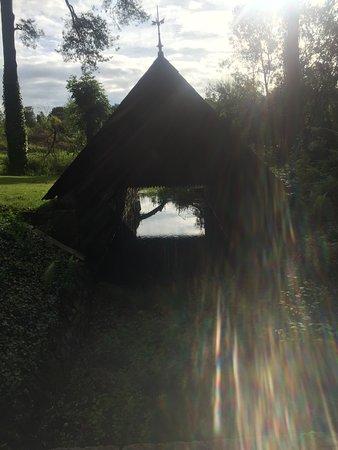 Near the walled garden