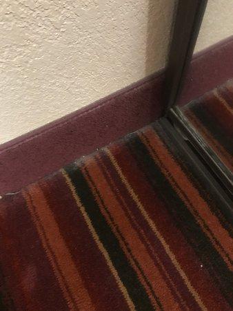 Horrible mid-80s hotel. Run away!