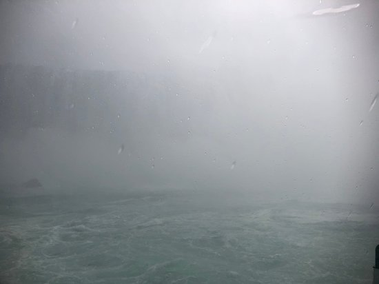 Up close at the Horseshoe Falls
