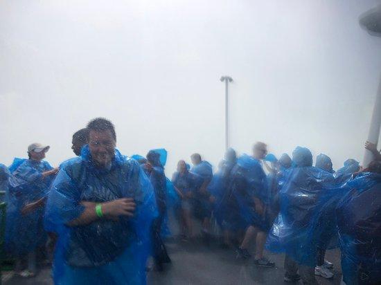 It gets wet!