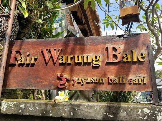 The Fair Warung Bale: The Fair Warung Bale by the Fair Future Foundation