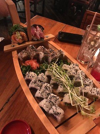 Best sushi in Manuel Antonio