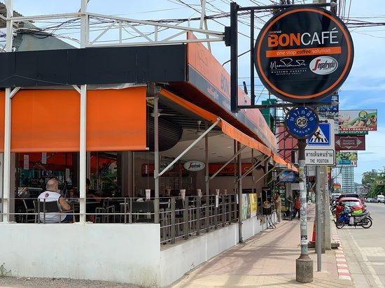 Bon Cafe: Easily find at Naklua Soi 29
