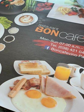 Bon Cafe: Morning calling