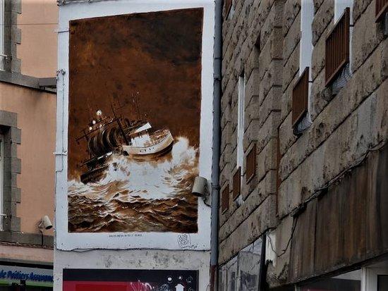 "Fresque ""Chalutier breton"""