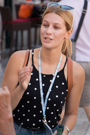 Daniela, Dubrovnik Walking Tours rising star :-)