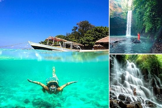 Blue Lagoon Snorkeling - Scenic Ubud Waterfalls - All Included + FREE Wi-Fi