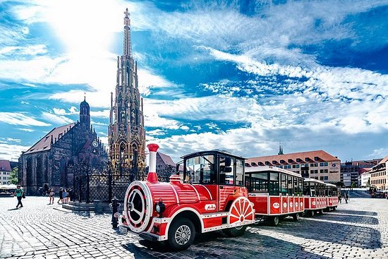 City tour Nuremberg com o trem...