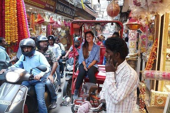Delhi City Tour with Tuk Tuk / Rikshaw Experiance: Delhi Tour with Tuk Tuk / Rikshaw Experiance