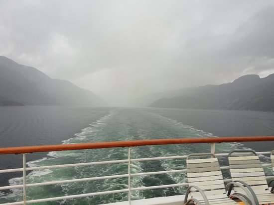 On the way to Norway on the Balmoral