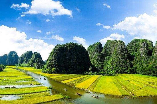 Hoa Lu -Tam Coc –pagoda Bai Dinh- Trang An Eco turismo - Traslado gratuito al aeropuerto: Hoa Lu -Tam Coc –Bai Dinh pagoda- Trang An Eco tourism – Free Airport transfer