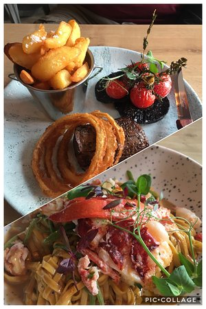 Nolton, UK: Lovely meal at the brasserie