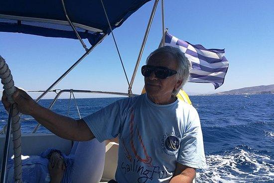 Segelbootfahrten mit Sonnenbaden...