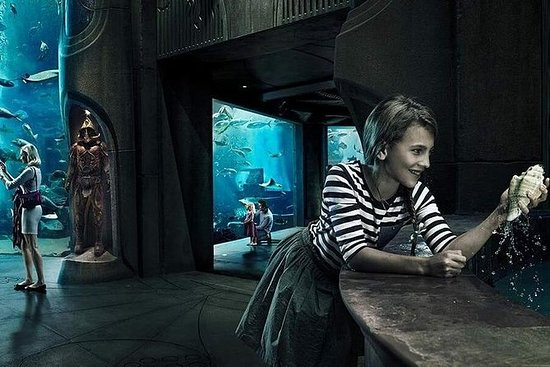 Lost Chambers Aquarium + SIM card with FREE Talktime: Lost Chambers Aquarium Dubai Tickets