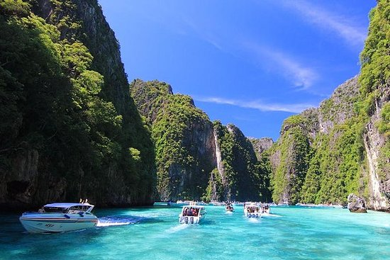 Maya Bay Phi Phi Islands Tour en lancha...