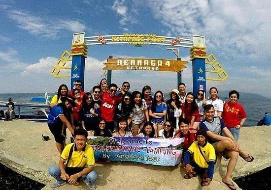 Bandar Lampung, Indonézia: Dermaga 4 Ketapang - Pesawaran Lampung