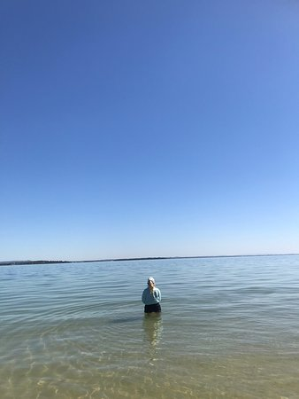 Redland City, Australia: Clear waters of Moreton Bay in the cooler months