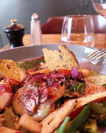 La célèbre salade : La Boutarde