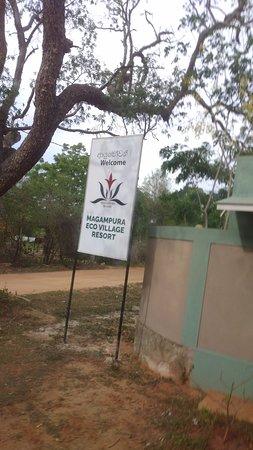 Magampura Eco Village Resort: magampura resort entrance