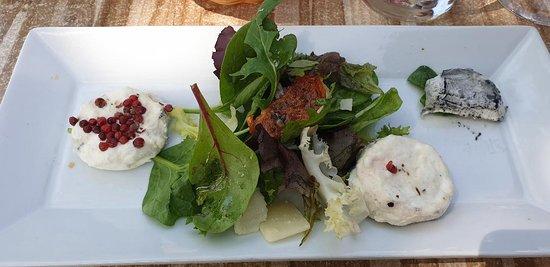 La Cuisine: assiette de fromages