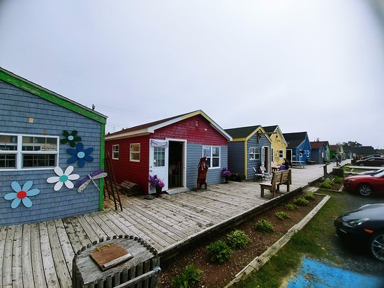 The shops at Fisherman's Cove Eastern Passage, Nova Scotia