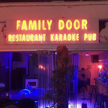 Family Door restaurant karoke pub