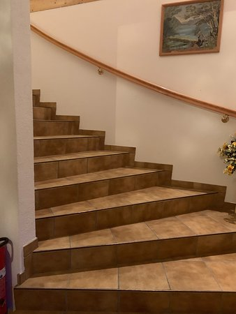 Stairs to take up to thrid floor - no elevator